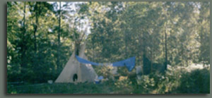 Tipi lifestyle Maleny Queensland