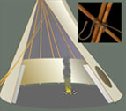 Learn how to set up a Tipi